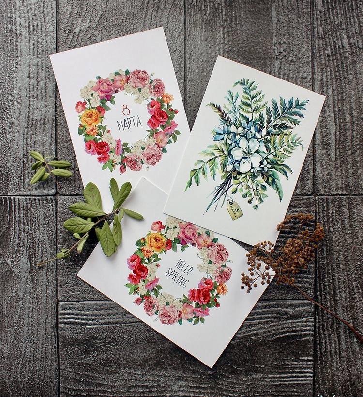 дизайн сувенирных открыток один потрясающий