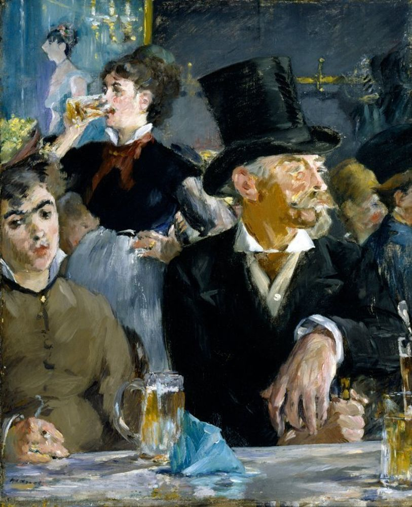 Edouard Manet - At the Caf.jpg